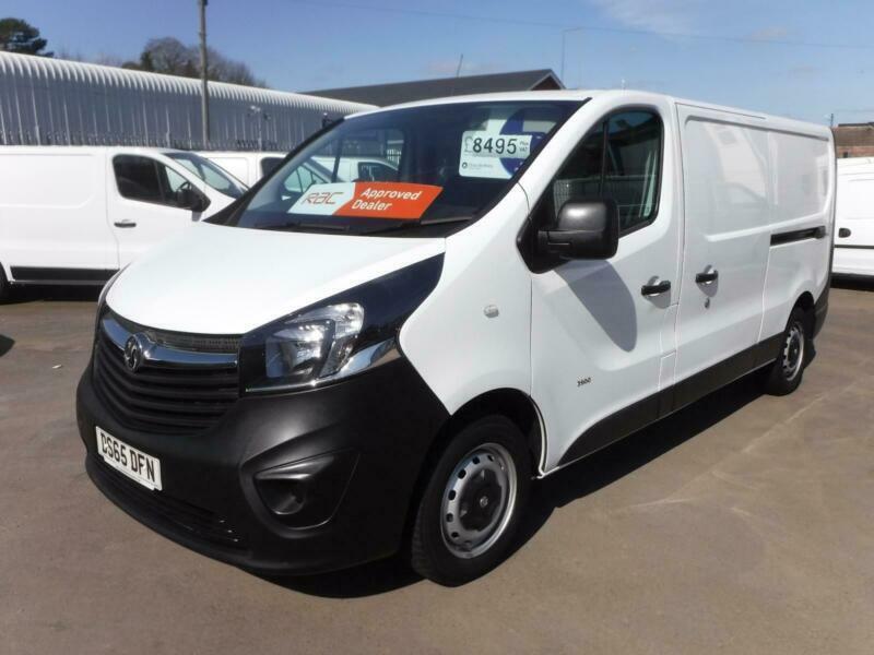 3d7a08532ff6c4 Vauxhall Vivaro 2015 1.6CDTi 115PS 2900 ECOflex L2 H1 Panel Van ...