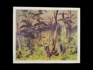 "A.J. Casson ""Forest Tangle"" Limited Edition Lithograph London Ontario image 5"