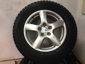 Winter Tires Set 265/60/18  on Mercedes Wheels 18""