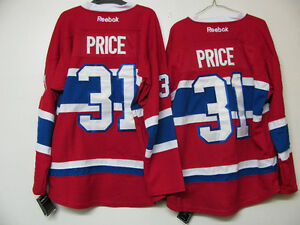 MONTREAL CANADIENS PRICE ADULT/YOUTH ROY BELIVEAU RICHARD JERSEY