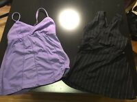 Lululemon tops and shorts size 6 ladies ** priced to sell**