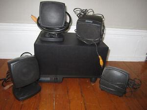 altec Lansing model ACS54 computer  speaker system