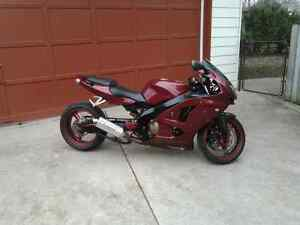 1998 ninja 600 with 750 motor trade for?