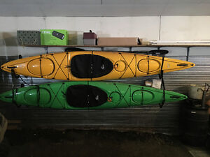 PENDING: New Delta 12.10 LightweightTouring Kayaks (2) with gear