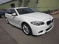 2015 15 BMW 5 SERIES 2.0 520D M SPORT TOURING 5D AUTO 190 BHP DIESEL