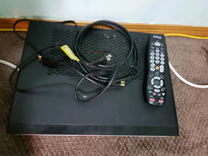 Shaw hd receiver (Pace model) with original shaw remote.