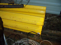 SAFETY RAILING TWO PIECES 10 FEET LONG