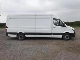 Mercedes-Benz Sprinter 3.5T High Roof Van LWB EURO 6 DIESEL MANUAL WHITE (2016)