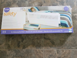 Brand New Babies R' us Safety Hideaway Bed Rail