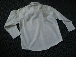 Boys Size 4 White Long Sleeve Dress Shirt Kingston Kingston Area image 2