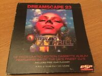 Dreamscape 23 12 cassette pack Rave jungle Techno