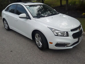 2015 CHEVY CRUZE TURBO DIESEL ONLY 64K, GREAT ON GAS