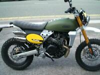 Fantic Caballero 500cc Scrambler Rally - Road or off Road Bike - Brand New
