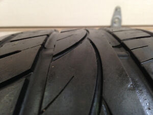 275 55 20 ALL SEASON TIRES 60% REMAINING $60 FOR THE PAIRL