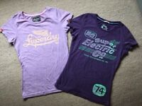 Original authentic Superdry vintage t-shirts size XS