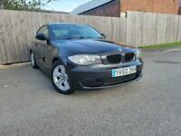 2010 60 Reg BMW 118 2.0TD d ES Black Coupe