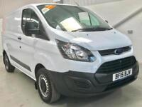 2015 FORD TRANSIT CUSTOM LOW MILEAGE 17,000 100PS 290 L1H1 SWB SHORT WHEELBASE
