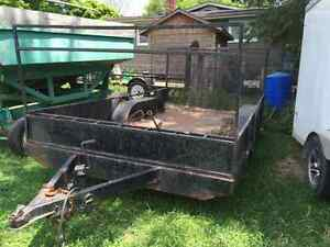 Landscape trailer