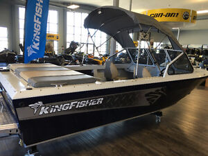 2016 KingFisher 1975 Fastwater, Jet River Boat