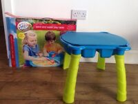 Children's sand and water play table. New never used