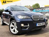 2014 BMW X6 XDRIVE 40D 5DR AUTOMATIC 4X4 COUPE DIESEL