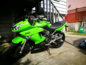 Kawasaki Ninja 650r 2009 18,500kms, never dropped, no body dmg