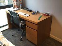 Malm IKEA desk (over 60% discount!)