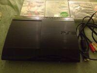 PS3 SUPER SLIM 250Gb +8 jeux nego