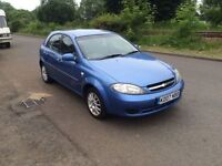 Chevrolet LACETTI 2007 1.6 Petrol 48k MILES!! 12 Months MOT included in sale