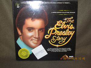 FS: Elvis LP's and free Blue Rodeo 2 CD set