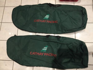2 Golf Club Flight Check-in Travel Bags -Good Condition $Reduced