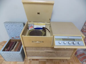 HiFi Cabinet and records