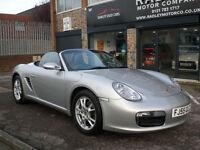 2005 Porsche Boxster 2.7 987 Convertible 2DR 55 REG Petrol Silver