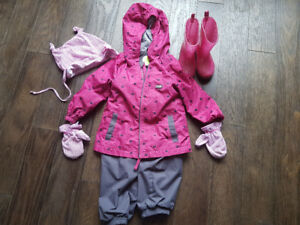 Ensemble habit de printemps pour fille