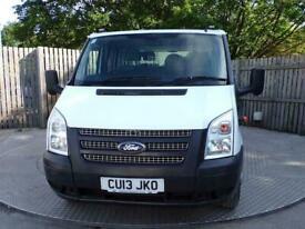 "2013 Ford Transit 350 C/Cab Tipper 125ps Length 9ft 4"" Tipper Diesel Manual"