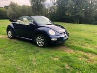 Volkswagen Beetle 1.6 2004 MODEL FULL LEATHER LOW MILEAGE VERY CLEAN CAR