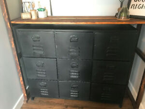 Industrial Metal Filing Cabinet Drawer Unit Furniture from India