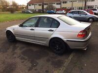 2002 02 BMW 320d 200 bhp sale or px