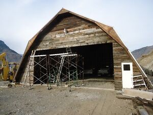 Heritage Building & Reclaimed Fir Planks & Timbers-