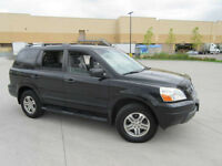 2004 Honda Pilot EXL,Leather, 8 Passengr, up to 3 years warranty