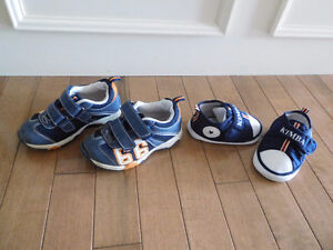 Boys Shoes size 4 and 8