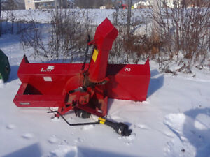 BE READY! Snow blowers forsale