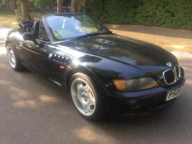 1997 BMW Z3 1.9 2 DOOR SOFT TOP CONVERTIBLE BLACK 5 SPEED MANUAL