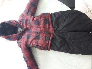 Size 18-24m snow suit for sale.