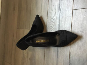 Black dress shoes barely used
