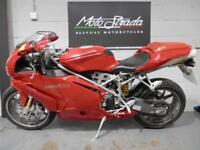 DUCATI 749 S' BIPOSTO RED 2004 54' model year Superb condition machine!