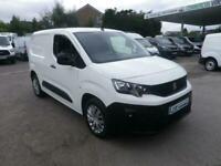 2020 Peugeot Partner BLUEHDI PROFESSIONAL L1 Temperature Controlled Diesel Manua