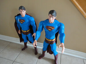 LARGE SUPERMAN MAN ACTION HERO FIGURINE STATUE TOY COLLECTIBLE London Ontario image 6