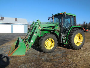 2001 John Deere 6110 with ice cold air