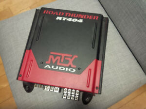 MTX RT404 Road Thunder 4 Ch Amplifier 400 Watts